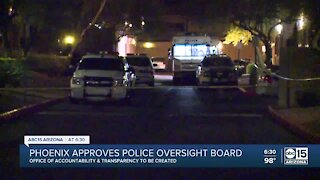 Phoenix approves police oversight board