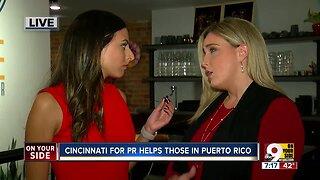 Cincinnati raises money for Puerto Rico