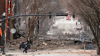 Explosion in Nashville on Christmas Day