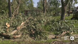 Residents cleaning up after EF-1 tornado in Armada