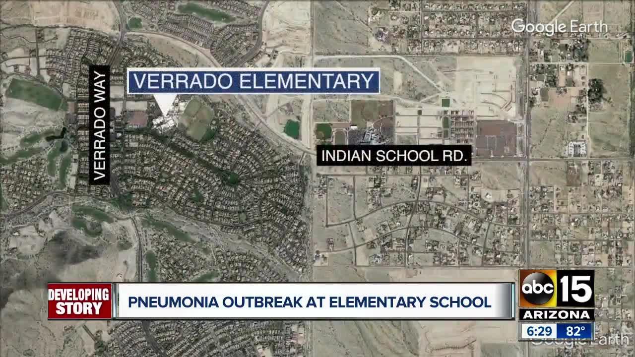 Verrado Elementary battling pneumonia outbreak