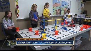 Four Joplin Elementary students head to robotics world championship in Kentucky