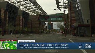 COVID-19 crushing hotel industry