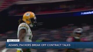 Report: Green Bay Packers, star receiver Davante Adams have 'broken off' contract talks