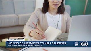 Vail School District Online Testing Process