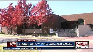 Broken Arrow Wine, Eats and Easels