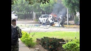 Carro bomba explotó en la Brigada 30 en Cúcuta