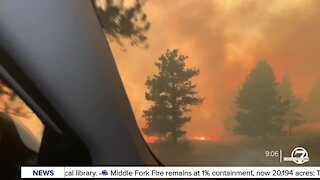 """""""I'm in fire"""": Harrowing video shows teens escaping Calwood Fire"""