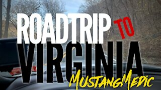 Going to Virginia with Rachel to see some Mustangs