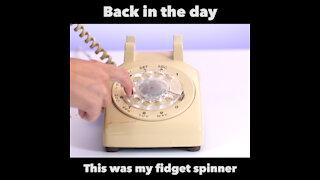 Rotary phone fidget spinner [GMG Originals]