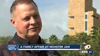 Monster Jam family