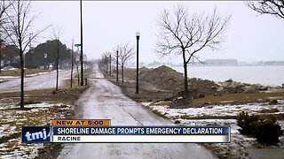 20-foot waves cause 'millions' in damage to Racine's Lake Michigan shoreline