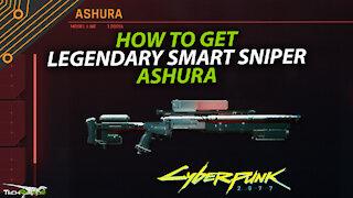 Cyberpunk 2077 Ashara Legendary Smart Sniper & Small Man Big Evil Gig
