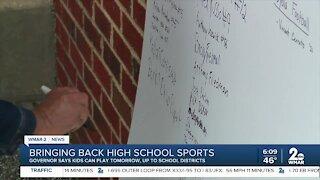 Bringing back high school sports