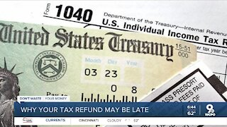 Growing number of people reporting delays in tax refunds