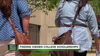 Finding hidden college scholarships