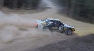 Celica rally car