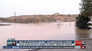 Flooding in southwest Bakersfield