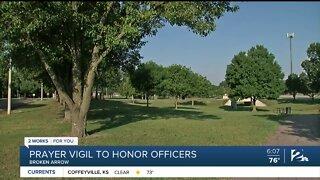 Prayer Vigil To Honor Broken Arrow Police Officers