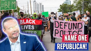"""Bongino RIPS LIB IN HALF FOR CLAIMING REPUBLICANS WANT TO DEFUND POLICE - """"NAME ONE!"""""""