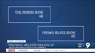 Tucson mom hopes to educate the community on dangers of fentanyl