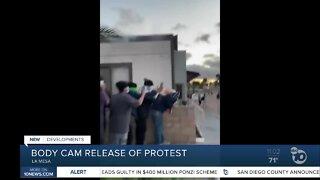 La Mesa Police release body cam of protest