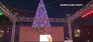 Clark County Christmas tree lighting ceremony