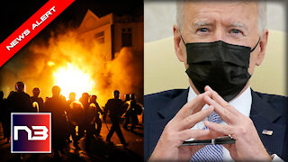EVERYONE Noticed One Thing Wrong after Biden CONDEMNS Minneapolis Riots