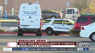North Las Vegas police arrest boyfriend of 17-year-old girl for murder