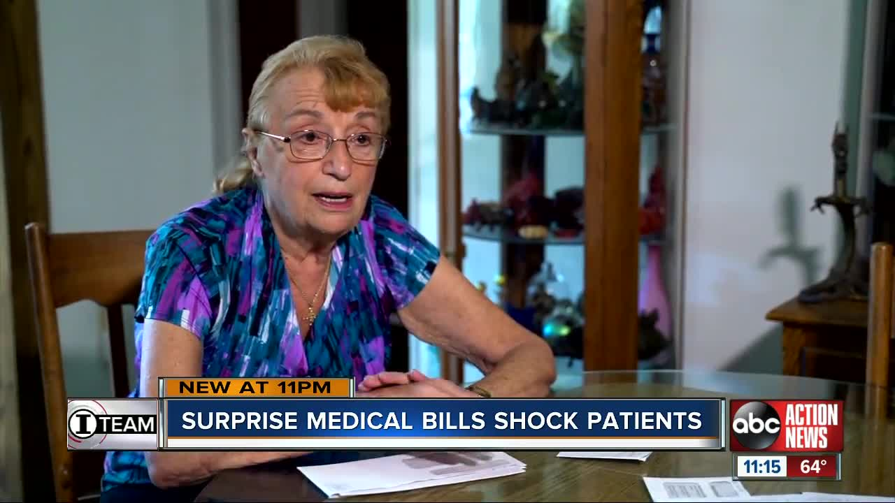Surprise medical bills shock patients