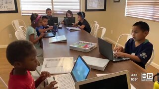 Gilbert family with 12 kids adjusts to remote learning