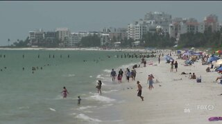 Collier County restricts beach hours, parking for 4th of July weekend