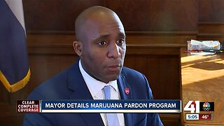 KCMO mayor shares details of marijuana pardon program