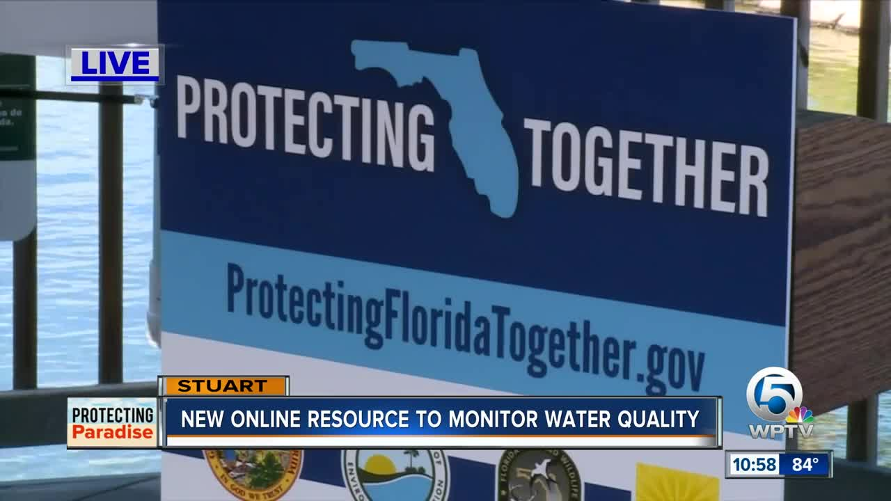Gov. DeSantis visits Martin County to announce new water quality resource