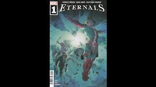 Eternals -- Issue 1 (2021, Marvel Comics) Review