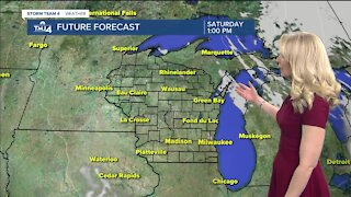 Quiet weather continues into the weekend