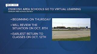 Oshkosh schools going fully virtual