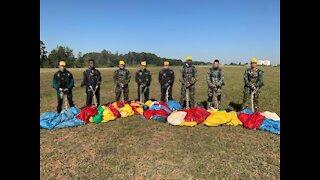 Army jump training.