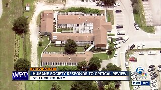 Humane Society of St. Lucie County responds to critical review