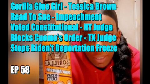 The Latino Conservative Ep 58 - Gorilla Glue Girl - Impeachment Deemed Constitutional
