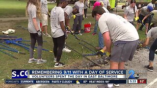 Remembering 9/11 with a day of service