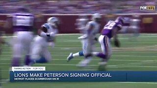 Matthew Stafford, Matt Patricia talk Lions signing of Adrian Peterson