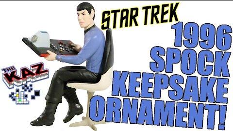 1996 Mr Spock Star Trek Hallmark Keepsake Ornament