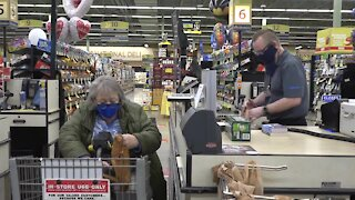 Grocery store workers have been essential during the pandemic