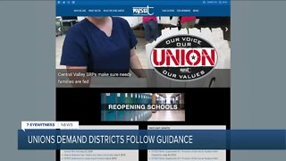 NYSUT demanding school districts abide by state reopen guidance