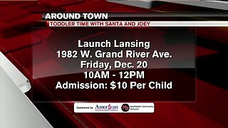 Around Town - Toddler Time Christmas with Joey and Santa - 12/18/19
