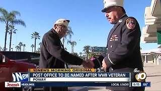 Post Office in Poway to be named after Pearl Harbor survivor