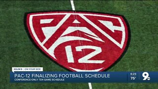 Pac-12 finalizing conference schedule