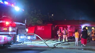 Family displaced after fire in west Phoenix