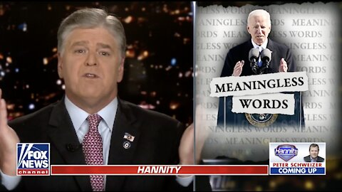 Hannity pans Biden's 'forgettable' inauguration address